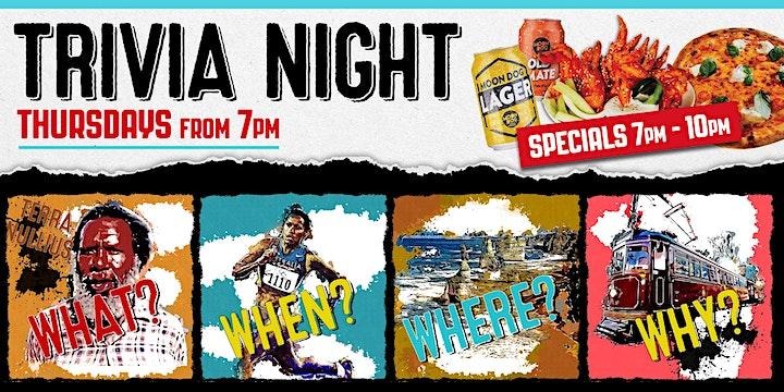 TRIVIA NIGHT! ($150 Prize to be WON) image
