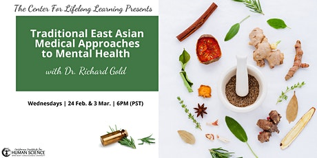 Traditional East Asian Medical Approaches to Mental Health tickets