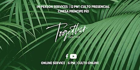 IC:Madrid In-Person Service // Culto Presencial entradas