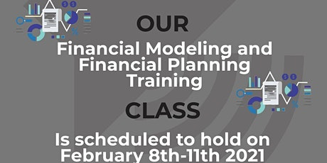 Financial Modeling and Financial Planning Training tickets