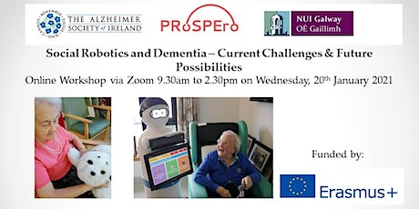 Social Robotics in Dementia Care: Current Challenges & Future Possibilities tickets