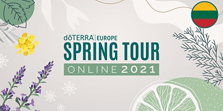 dōTERRA Spring Tour Online 2021 – Lithuania - Beginner tickets