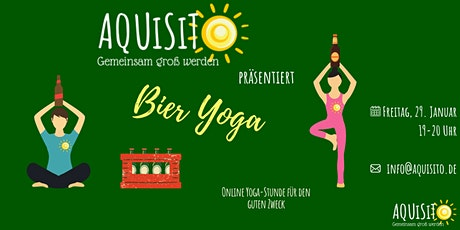 Bier-Yoga Tickets