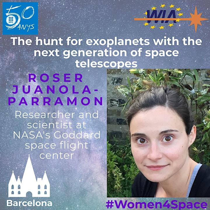 WIA-E Barcelona - #Women4Space Conference with Roser Juanola-Parramon image