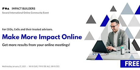 Make More Impact Online tickets
