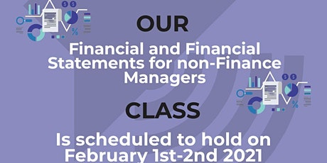 Finance and Financial Statements for non-Finance Managers tickets