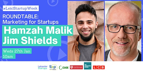 Roundtable: Marketing for Startups | Day 3 Leicester Startup Week biglietti
