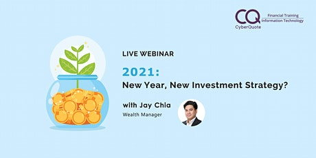 2021: New Year, New Investment Strategy? tickets