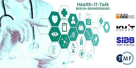 Health-IT Talk: Die Digitalisierung im Gesundheitswesen ist angekommen! Tickets