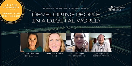 Developing People in a Digital World tickets