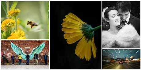 BASIC PHOTOGRAPHY WEEKEND (2 DAYS 10AM - 5PM) ON-LOCATION &  VIA ZOOM tickets