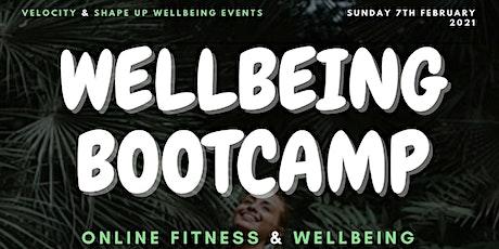 Online Wellbeing Bootcamp tickets
