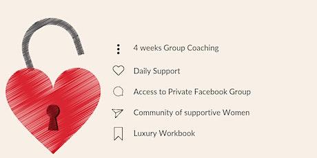 UNLOCKED 4 week Group Coaching Programme tickets