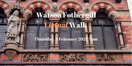 Watson Fothergill Virtual Walk - Nottingham's Victorian Architecture tickets