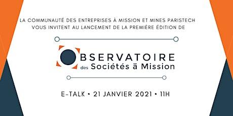 Lancement de l'Observatoire des Sociétés à Mission billets