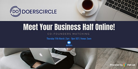 Co-Founders Matching: Meet Your Business Half tickets