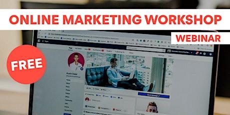 Free Online Marketing Workshop - SEO For Beginners! Tickets
