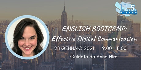 English Bootcamp Effective Digital Communication biglietti