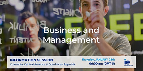 IE Business & Management Info Sessions – Colombia, Central America & Dominican Republic tickets