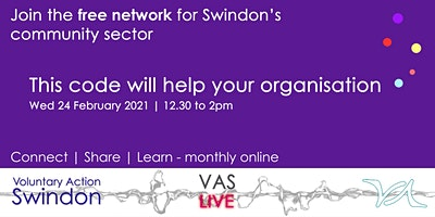 VAS-LIVE – this code will help your organisation