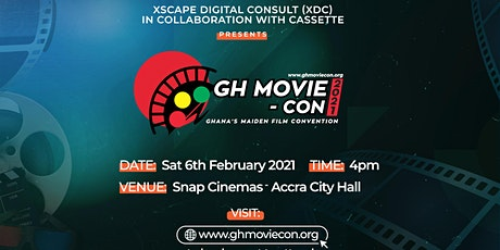 GhMovie-Con 2021 tickets