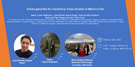 Webinar 05_Urban geosites for resilience: Case studies in Mexico City tickets