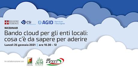 Bando cloud per gli enti locali: cosa c'è da sapere per aderire biglietti