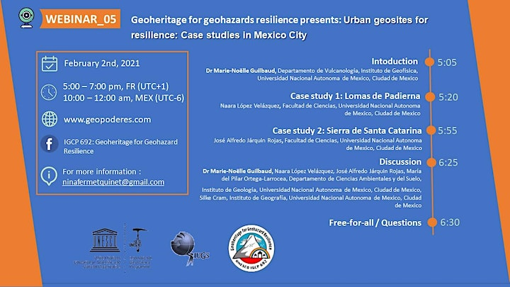 Webinar 05_Urban geosites for resilience: Case studies in Mexico City image