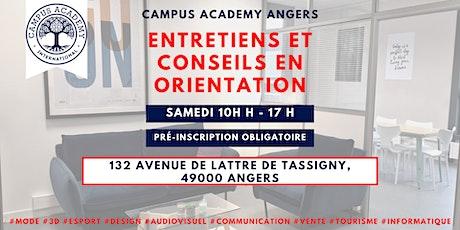 Entretiens et conseils en orientation / CAMPUS ACADEMY ANGERS billets