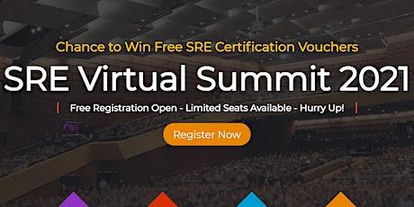 SRE Virtual Summit 2021 tickets