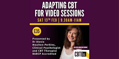 Adapting CBT for video call tickets