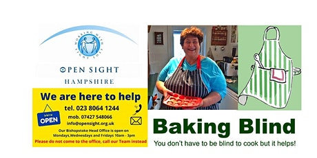 Baking with Penny from Baking Blind tickets