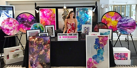 Exhibition - Original Alcohol Ink Artworks by Lenore tickets