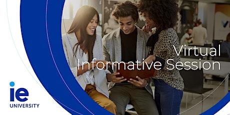 Online IE Saudi Arabia Info Session (MBA & Master Programs) tickets