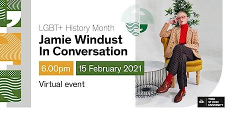 LGBT+ History Month - Jamie Windust in Conversation tickets