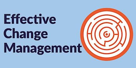 Effective Change Management tickets