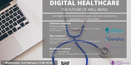 Digital Healthcare: The future of well-being tickets
