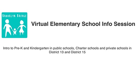 Virtual Pre-K (and  Kindergarten) Info Session tickets