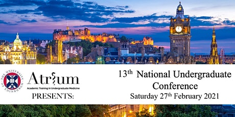 13th National ATRIUM Conference tickets