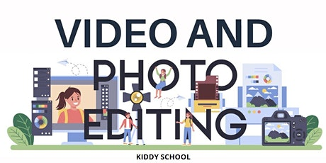 Photo/Video editing class for kids - Photoshop and Premiere Pro basics tickets
