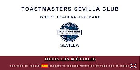 """Toastmasters Sevilla """"online"""" entradas"""