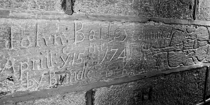 'Gay Graffiti at Lancaster Castle', a talk with Dr. Colin Penny image