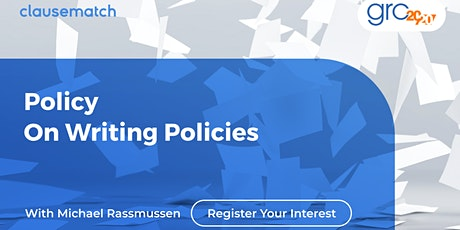 Policy on Writing Policies tickets