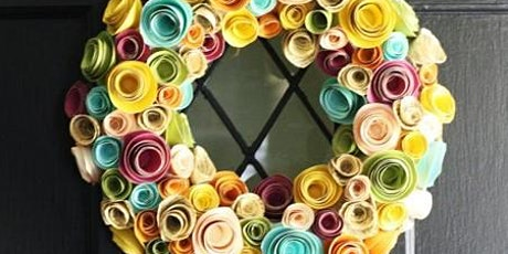 Make An Easter Paper Flower Wreath tickets