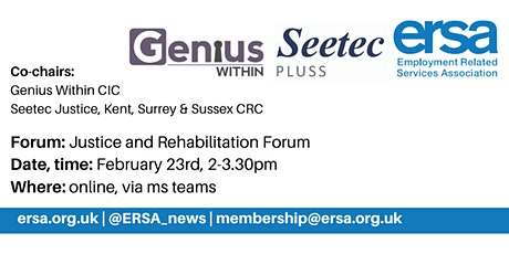 Justice and Rehabilitation Forum tickets