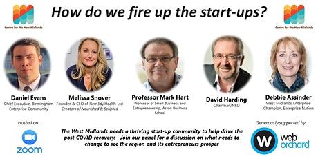 How do we fire up the start-ups? tickets
