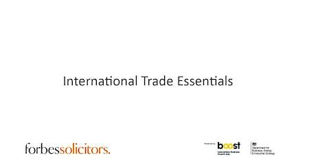 International Trade Essentials tickets