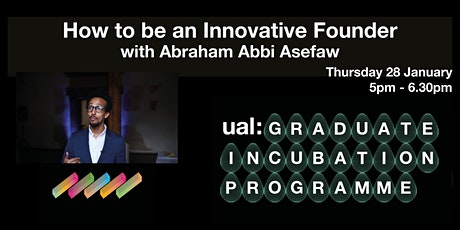 How to be an Innovative Founder tickets