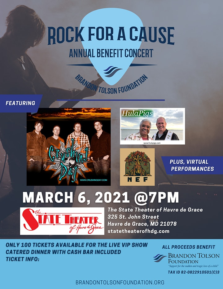 1st Annual Rock For A Cause Benefit Concert image