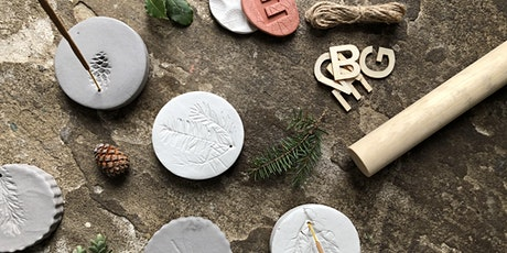 Create your own nature inspired Clay incense holders. Zoom/Maker Box tickets